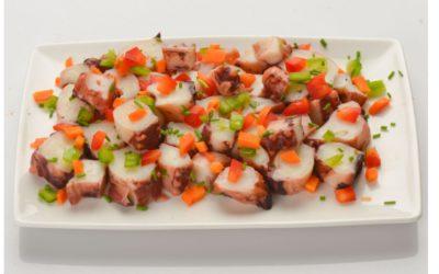 Octopus / squid salad